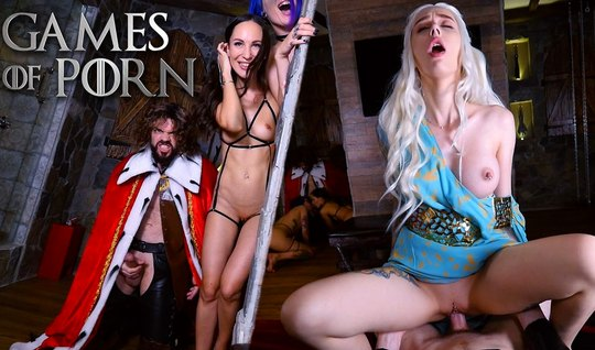 Porn parody of game of thrones blonde loves to do Blowjob