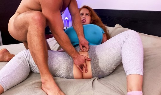 BBW with big milkings after a deep blowjob is ready to jerk off a dick and suck it...